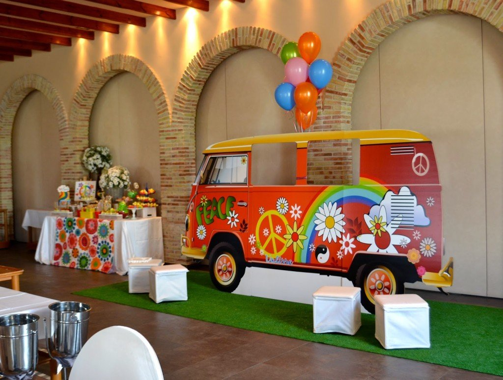 Comuni n hippie - Fiestas hippies decoracion ...